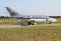 32 @ LFRJ - Dassault Falcon 10 MER, Taxiing, Landivisiau Naval Air Base (LFRJ) - by Yves-Q