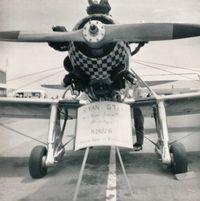 UNKNOWN @ MCE - Merced Airport California 1968. - by Clayton Eddy