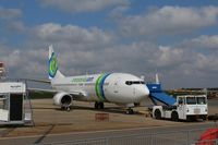 F-GZHB @ EGSH - Parked on stand