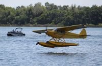 N8553C @ FA1 - Piper PA-18-135 - by Mark Pasqualino