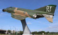 65-0747 @ KORL - Joe Kittinger's F-4D Phantom gate guard Orlando Executive