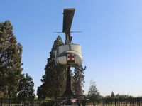 67-17189 - UH-1H Porterville CA gate guard