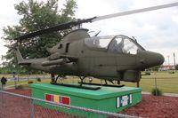 68-15074 - AH-1G gate guard in Monroe Veterans Park MI