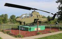 68-15074 - AH-1G gate guard at Monroe Veterans Park