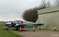 G-ARCW @ EGNI - Parked up at Skegness - by Clive Pattle