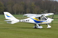 G-SLNT @ X3CX - On the ground at Northrepps. - by Graham Reeve