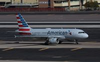 N768US @ KPHX - Airbus A319-112 - by Mark Pasqualino