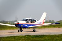N377C @ EGSH - Nice Visitor. - by keithnewsome