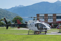 HB-ZLK @ LSZL - At Locarno-Magadino - by sparrow9