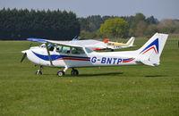 G-BNTP @ EGLM - Cessna 172N Skyhawk at White Waltham. Ex N6531E - by moxy