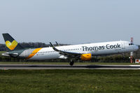 G-TCDD @ EGGD - Landing RWY 09 - by DominicHall