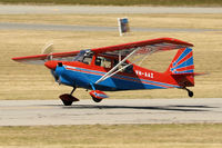 VH-AAZ @ YPJT - American Champion Aircraft corp 8KCAB. VH-AAZ Jandakot airport 08/04/17.
