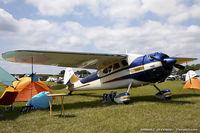 N195MK @ KLAL - Cessna 195B Businessliner  C/N 7907, N195MK
