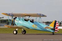 N713BP @ KLAL - Boeing E75 Stearman  C/N 75-5451, N713BP