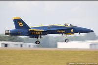 163708 @ KLAL - F/A-18C Hornet 163708 C/N 0770 from Blue Angels Demo Team  NAS Pensacola, FL - by Dariusz Jezewski  FotoDJ.com