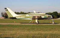N3845X @ KOSH - Cessna 310K - by Florida Metal