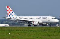 9A-CTG @ LFPG - Arrival of Croatia A319 - by FerryPNL