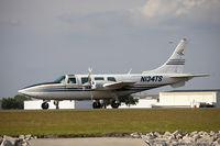N134TS @ KLAL - Aerostar 601  C/N 61-0134-072 , N134TS - by Dariusz Jezewski www.FotoDj.com