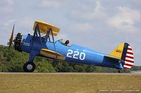 N61322 @ KLAL - Boeing A75N1(PT17) Stearman  C/N 75-1635 , N61322