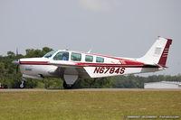 N6784S @ KLAL - Raytheon A36 Bonanza  C/N E-3089 , N6784S