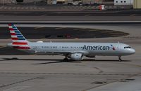 N184US @ KPHX - Airbus A321-211 - by Mark Pasqualino
