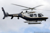 N319PD @ KFRG - AgustaWestland  A119 Koala  C/N 14040 NYPD, N319PD