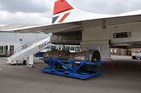 G-BBDG @ EGLB - On display at the Brooklands Museum with Olympus engine under the wing.