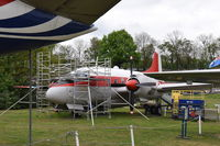 WF372 @ EGLB - On display at the Brooklands Museum.