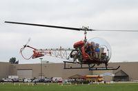 N6711D @ WS17 - Bell 47G