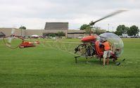 N6711D @ WS17 - Bell 47