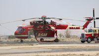 N9125M @ WJF - Sikorsky CH-54A