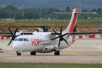 F-HOPX @ LFPO - ATR 72-600, Lining up rwy 08, Paris-Orly Airport (LFPO-ORY) - by Yves-Q