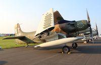 N39606 @ KOSH - AD-6 Skyraider