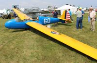 N54632 @ KOSH - TG-4 Glider - by Florida Metal