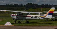 G-BTYT @ EGKA - Parked up at Shoreham Airport - by Steve Raper
