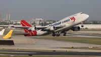 PH-MPS @ KMIA - Martinair Cargo 747-400F - by Florida Metal