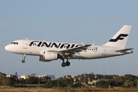 OH-LVB @ LMML - A319 OH-LVB Finnair - by Raymond Zammit