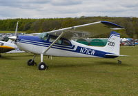 N71CW @ EGHP - Cessna 180E at Popham. - by moxy