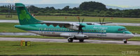 EI-FCY @ EGCC - @ EGCC - by Clive Pattle