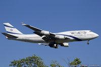 4X-ELC @ KJFK - Boeing 747-458 - El Al Israel Airlines  C/N 27915, 4X-ELC