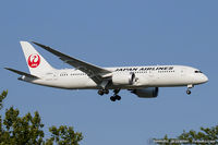 JA824J @ KJFK - Boeing 787-8 Dreamliner - Japan Airlines - JAL  C/N 34834, JA824J - by Dariusz Jezewski www.FotoDj.com