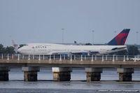 N673US @ KJFK - Boeing 747-451 - Delta Air Lines  C/N 30268, N673US