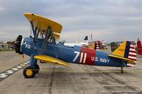 N7835B @ KYIP - Boeing A75N1(PT17) Stearman  C/N 75-4587, N7835B