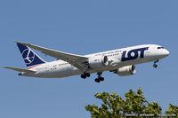 SP-LRB @ KJFK - Boeing 787-8 Dreamliner - LOT - Polish Airlines  C/N 37894, SP-LRB