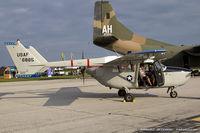 N802A @ KYIP - Cessna M337B (O-2A Super Skymaster)  C/N 337M0174 - Robert Shafer, N802A