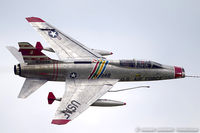 N2011V @ KYIP - North American F-100F Super Sabre  C/N 243-224, N2011V
