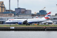 G-LCYZ @ EGLC - Departing from London City Airport.