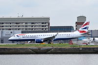 G-LCYU @ EGLC - Departing from London City Airport.