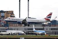 G-LCYS @ EGLC - Landing at London City Airport.
