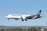 ZK-NZH @ YPPH - 16 Boeing 787-9. Air New Zealand ZK-NZH, final runway 03 YPPH 100519 - by kurtfinger
